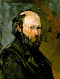 Paul Cezanne - Auto-Retrato (Phillips)