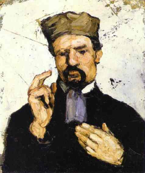 famous painting Tio Dominique (The Lawyer) of Paul Cezanne
