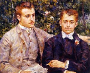 Pierre-Auguste Renoir - Charles e Georges Durand-Ruel
