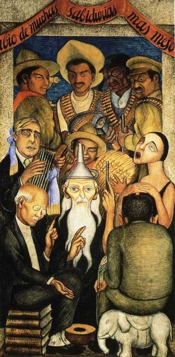 famous painting O Aprendidas of Diego Rivera