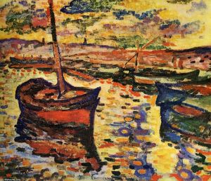 Georges Braque - a Harbor