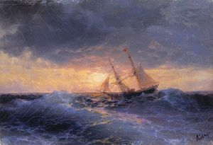 Ivan Aivazovsky - Mar do sol