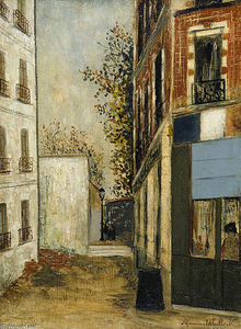 Maurice Utrillo - Cabare Belle Gabrielle