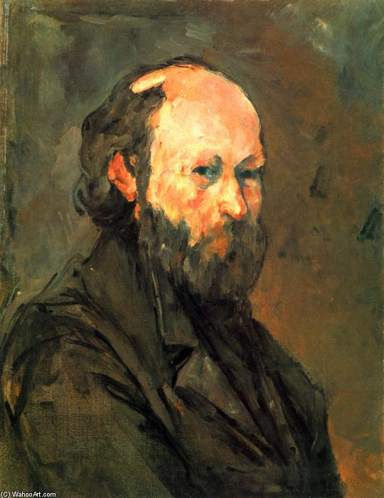 famous painting eu-portrait of Paul Cezanne