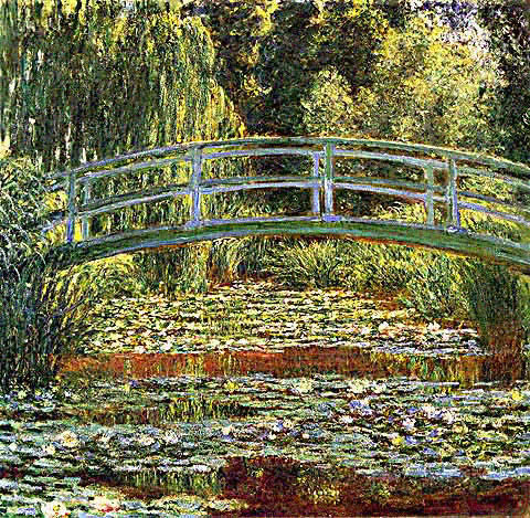 famous painting le nympheas bassin aux of Claude Monet