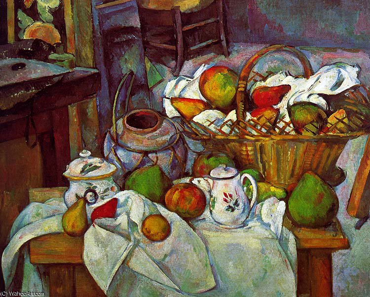 famous painting Sem título (3142) of Paul Cezanne