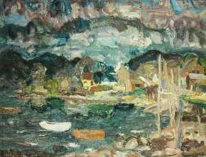 William George Gillies - Crepúsculo Letterfearn