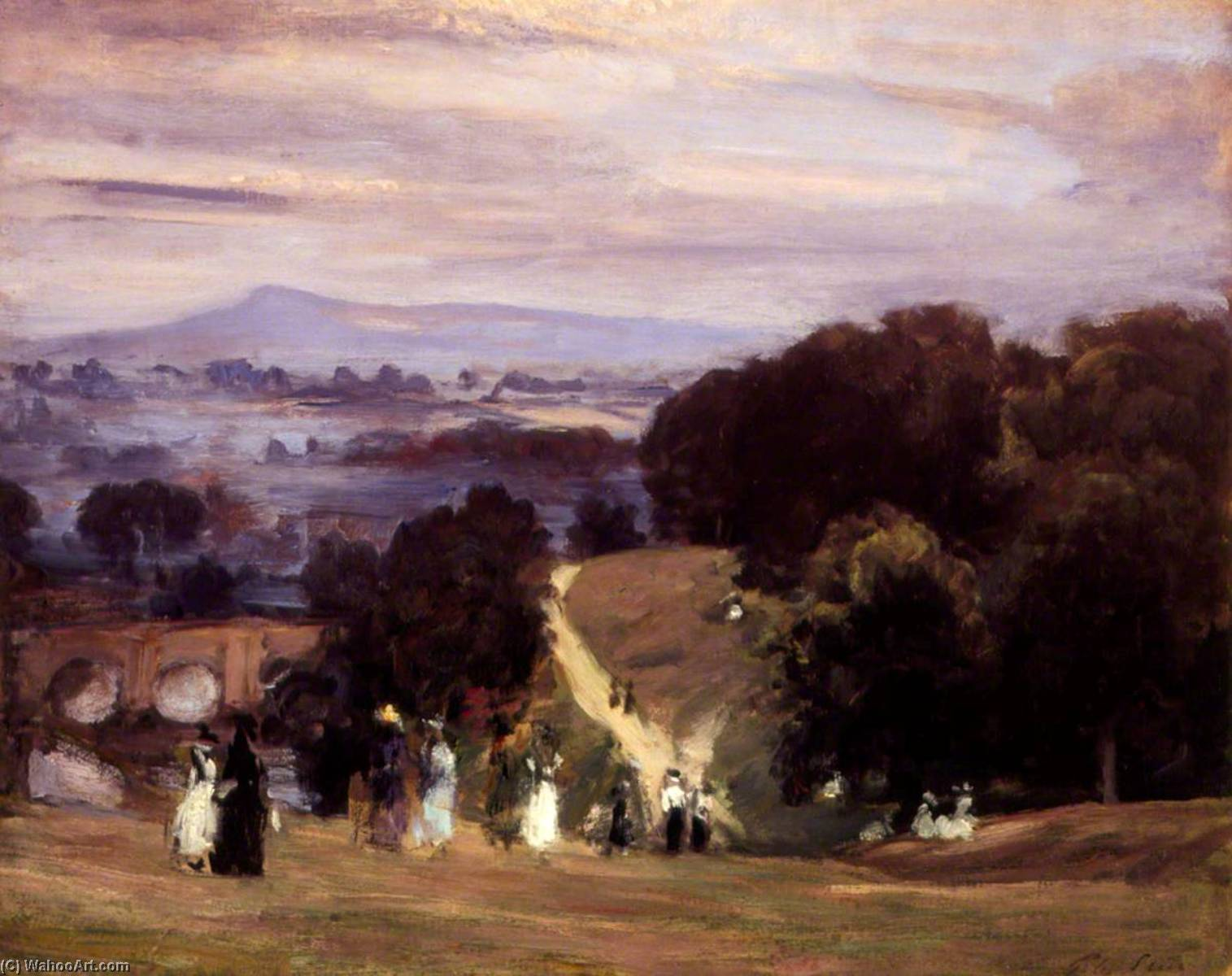 famous painting Ludlow Anda em of Philip Wilson Steer